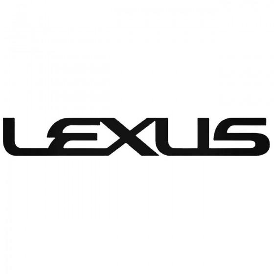 Lexus Graphic 2 Decal Sticker