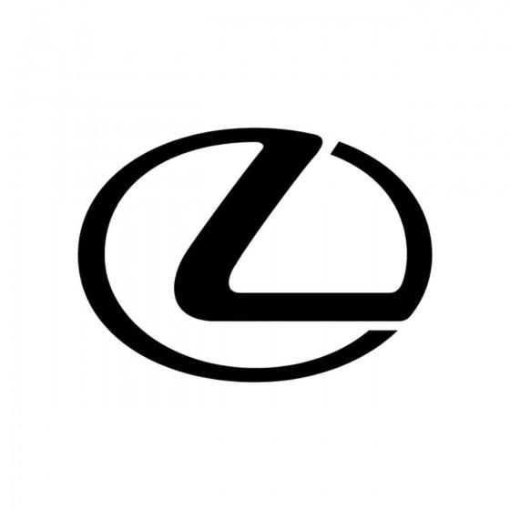 Lexus Logo Vinyl Decal Sticker