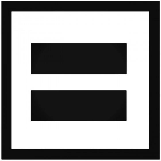 Lgbt Equality Vinyl Decal...