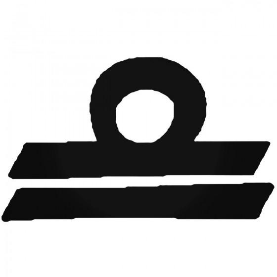 Libra G Decal Sticker