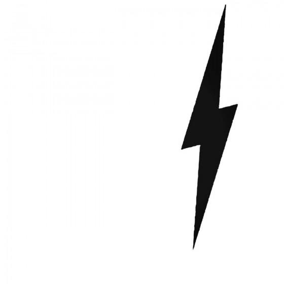 Lightning Bolt Decal Sticker