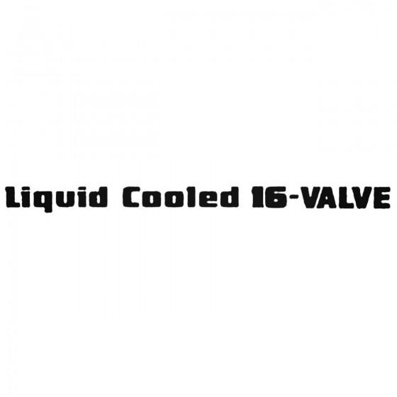 Liquid Cooled 16 Valve...