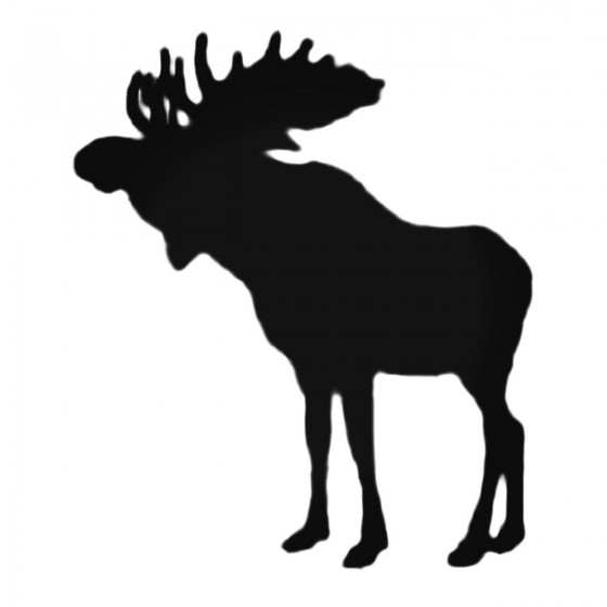 Little Moose Decal Sticker