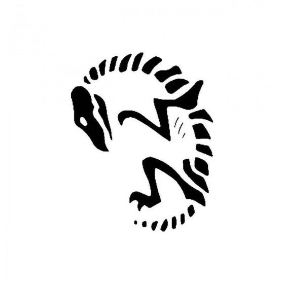 Lizard Skeleton Vinyl Decal...