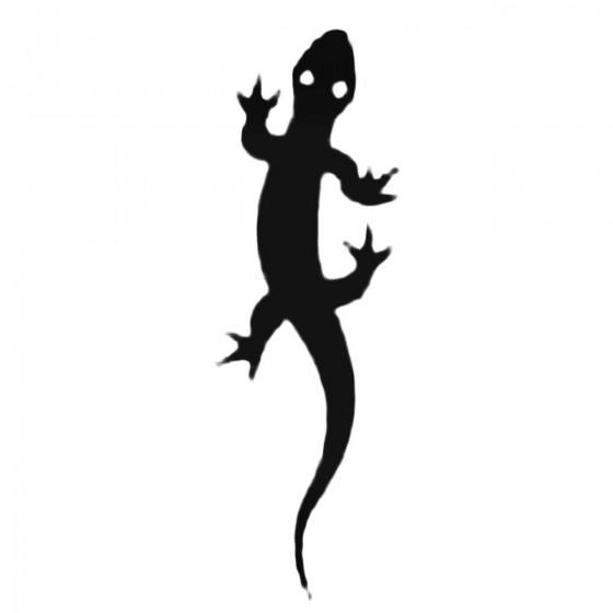 Lizard With Big Eyes Decal...