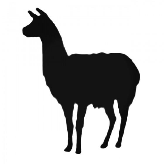 Llama Decal Sticker