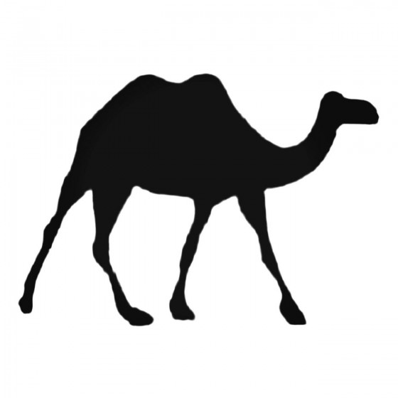Long Legged Camel Decal...