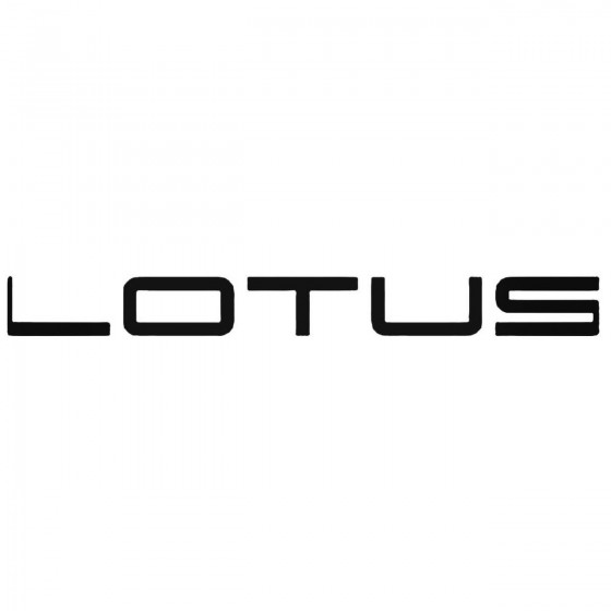 Lotus Decal Sticker