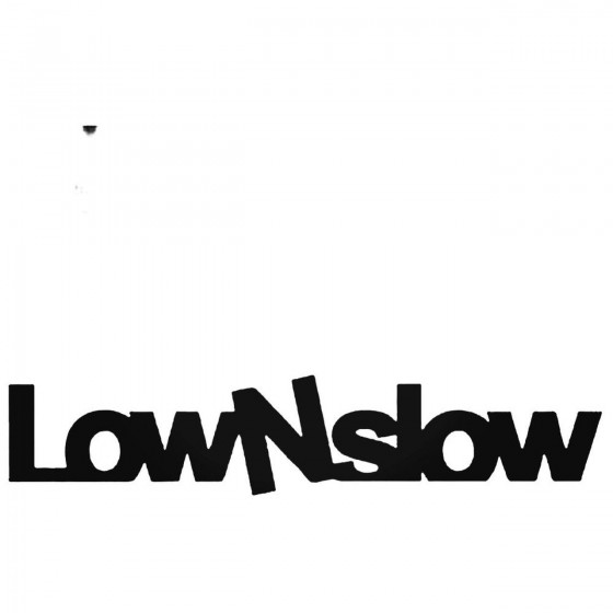 Lownslow Jdm Decal Sticker