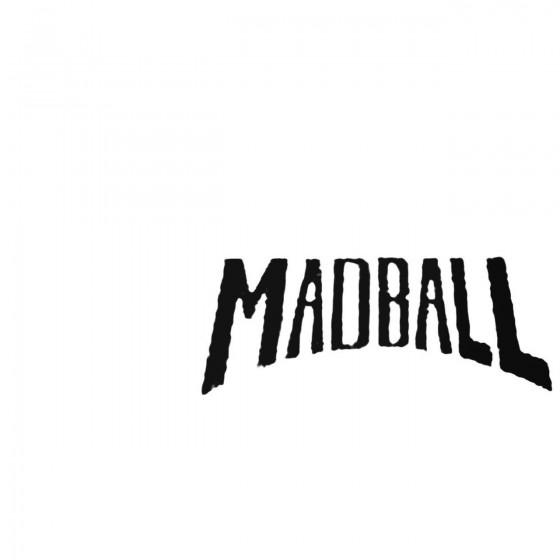 Madball 1 Decal Sticker