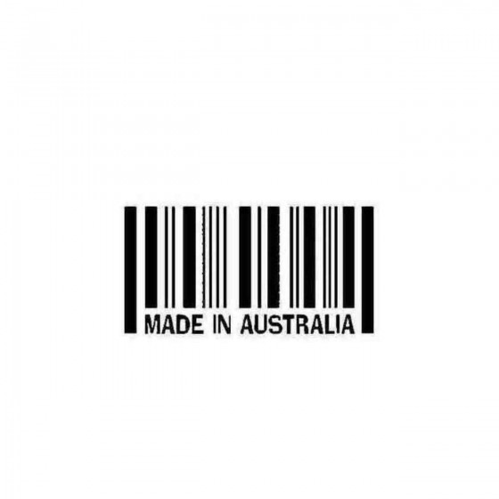 Made In Australia Decal...