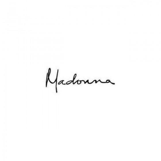 Madonna Decal Sticker