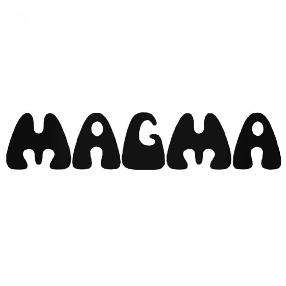 Magma V1 Decal Sticker