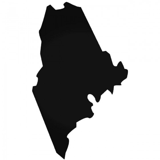 Maine Home State Decal Sticker