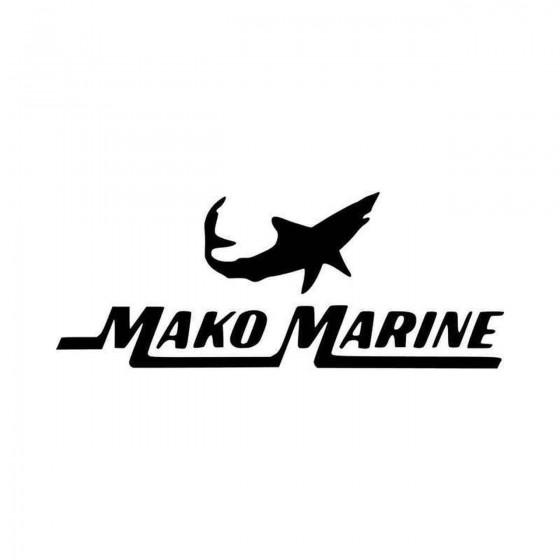 Mako Marine Boats Logo...