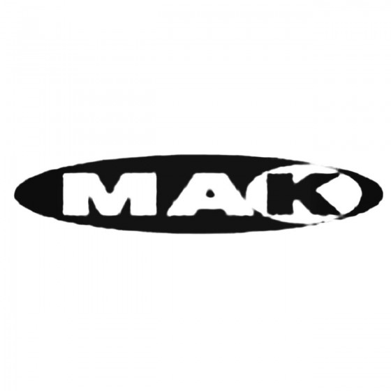 Mak Wheels Decal Sticker
