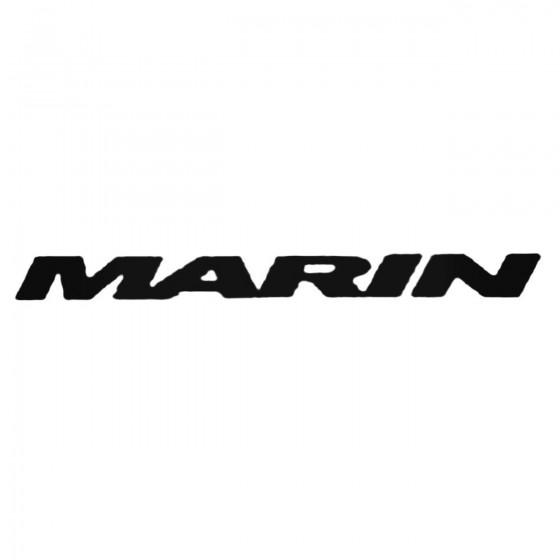 Marin Bold Decal Sticker