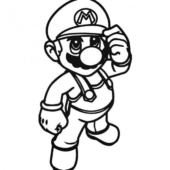 Mario Bros 938 Decal Sticker