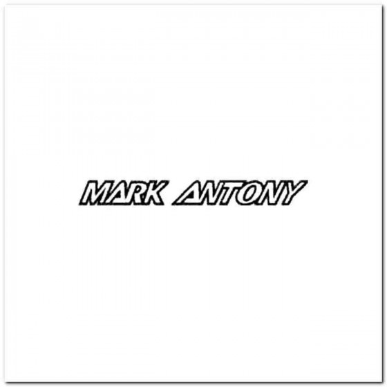 Mark Antony Vinyl Decal