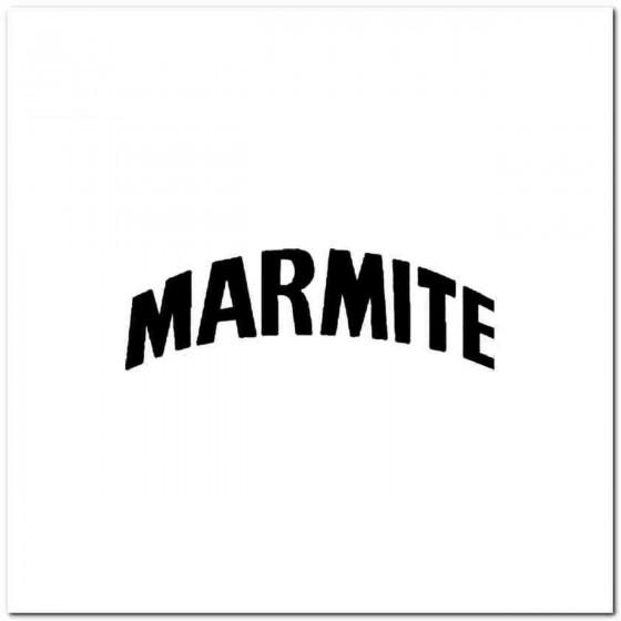 Marmite Vinyl Decal