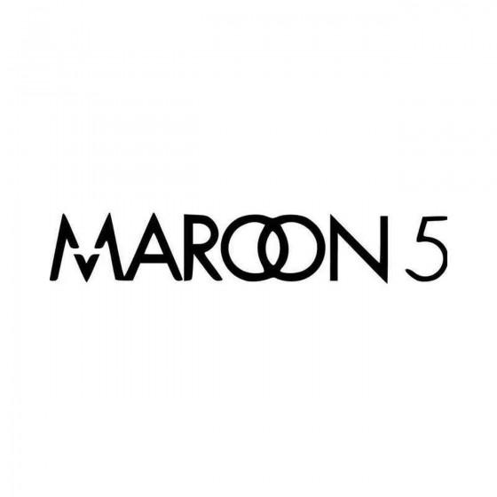 Maroon Vinyl Decal Sticker