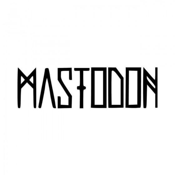 Mastodon Band Logo Vinyl...