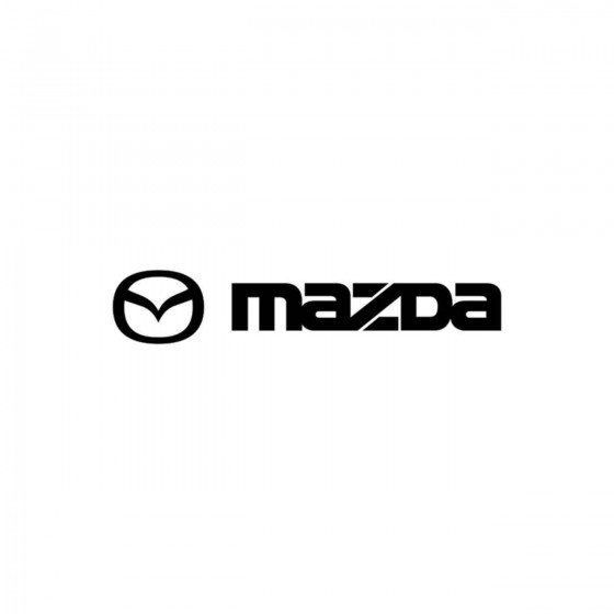 Mazda Modele 2 Vinyl Decal...