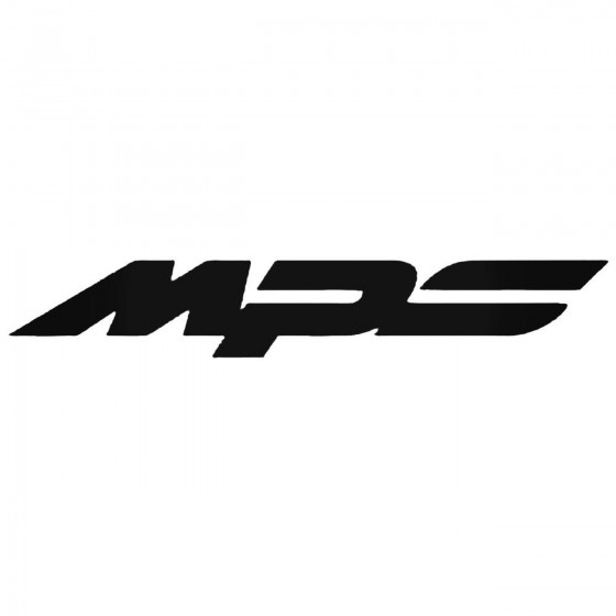 Mazda Mps Logo Decal Sticker