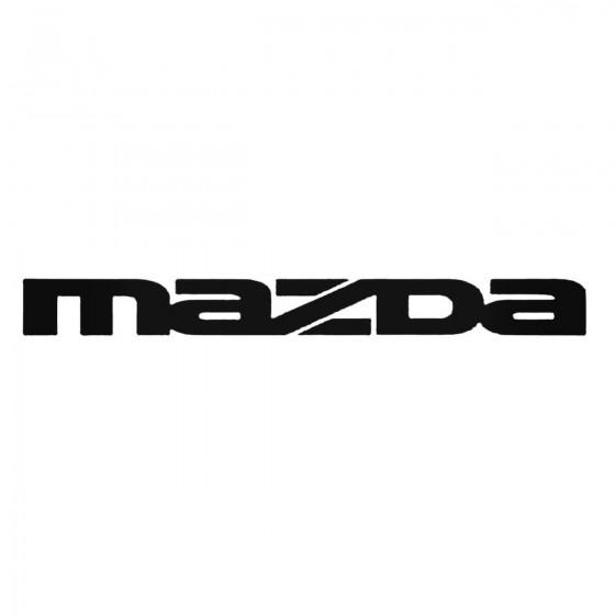 Mazda Windshield 2 Decal...