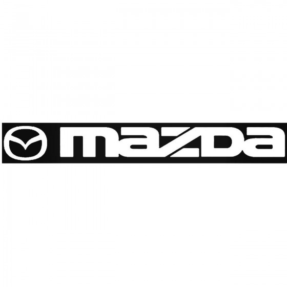 Mazda Windshield Banner 2...