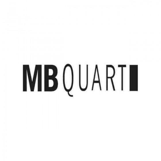 Mbquart Graphic Decal Sticker