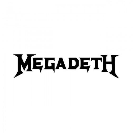 Megadeth Vinyl Decal Sticker