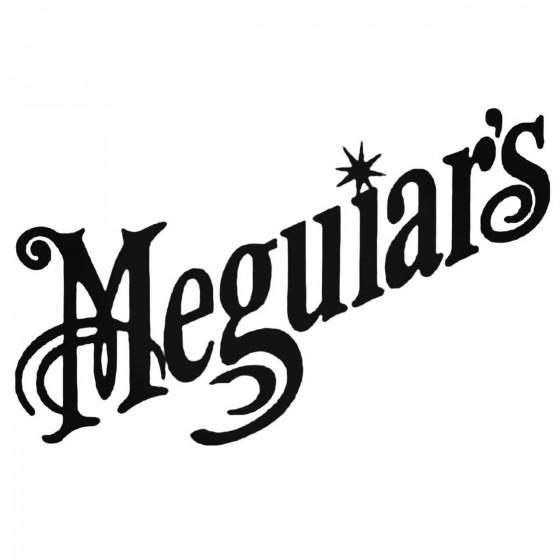 Meguiar039s Decal Sticker