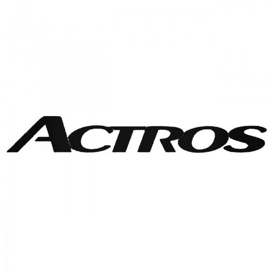 Mercedes Actros Logo Decal...