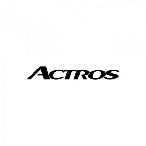 Mercedes Actros Vinyl Decal...