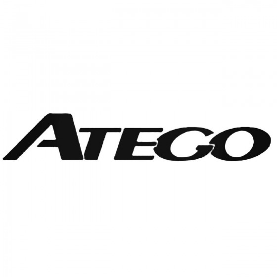 Mercedes Atego Decal Sticker