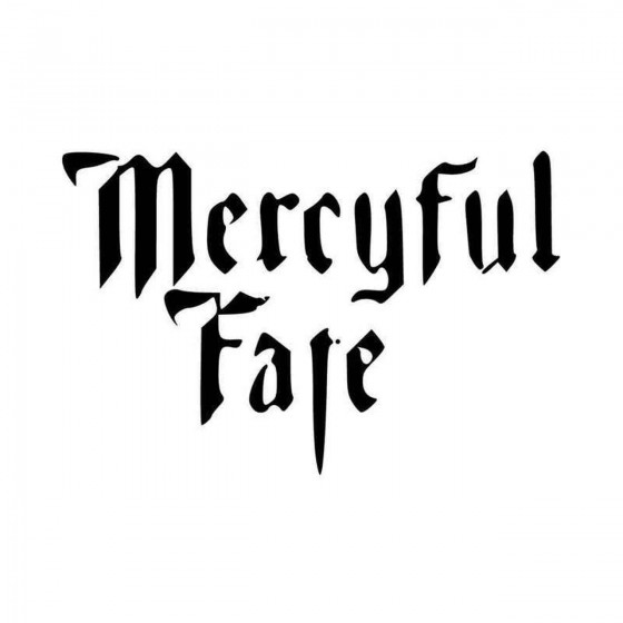 Mercyful Fate Vinyl Decal...