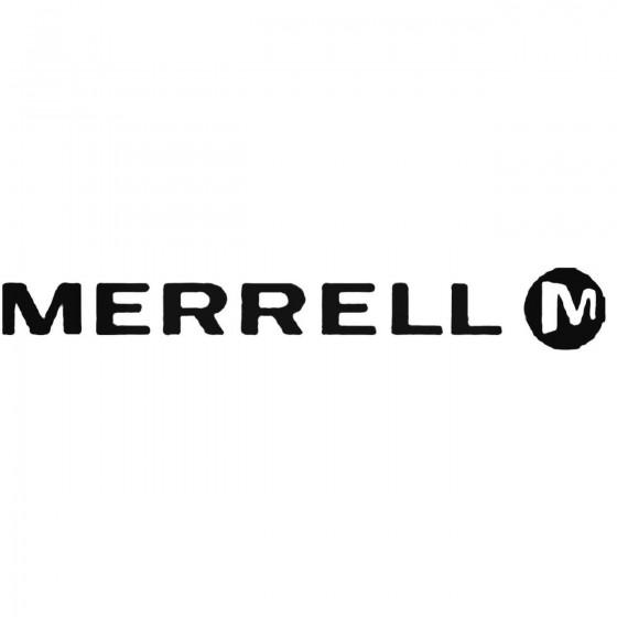 Merrell Vinyl Decal
