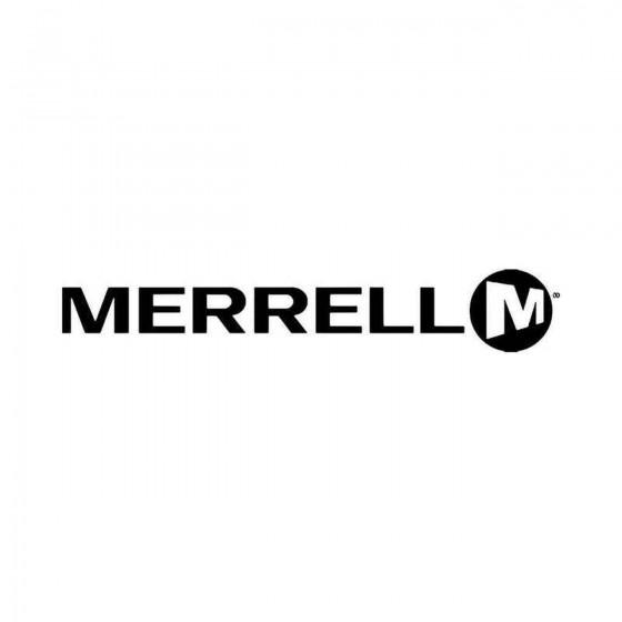 Merrel Vinyl Decal Sticker