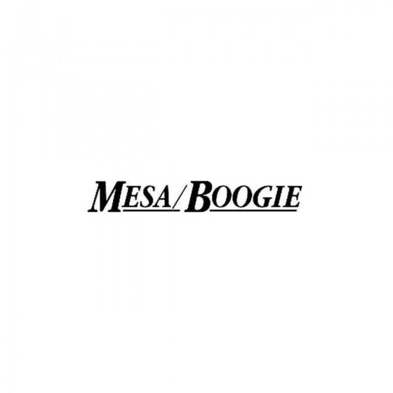 Mesa Boogie Vinyl Decal...