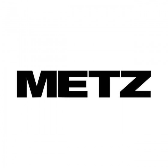 Metz Rock Band Logo Vinyl...