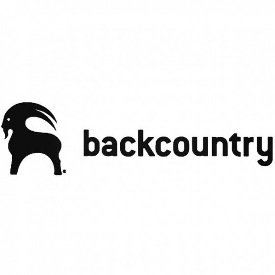 Backcountry Decal Sticker