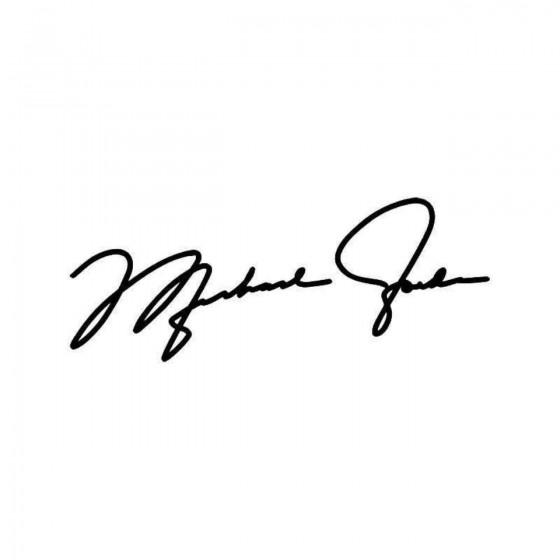 Michael Jordan Signature...