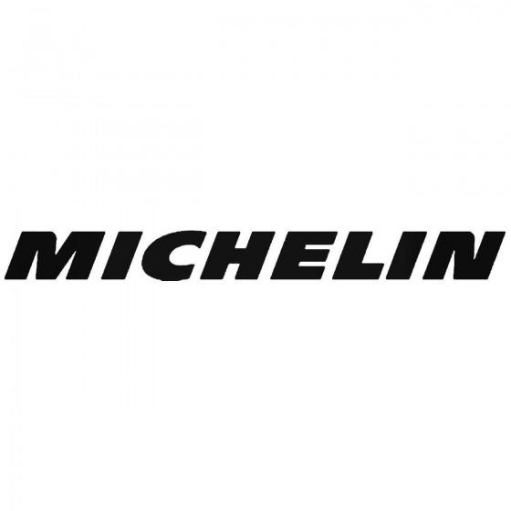 Michelin 2 Vinyl Decal...