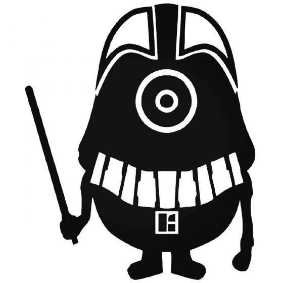 Minion Dh Vader 05 Decal...