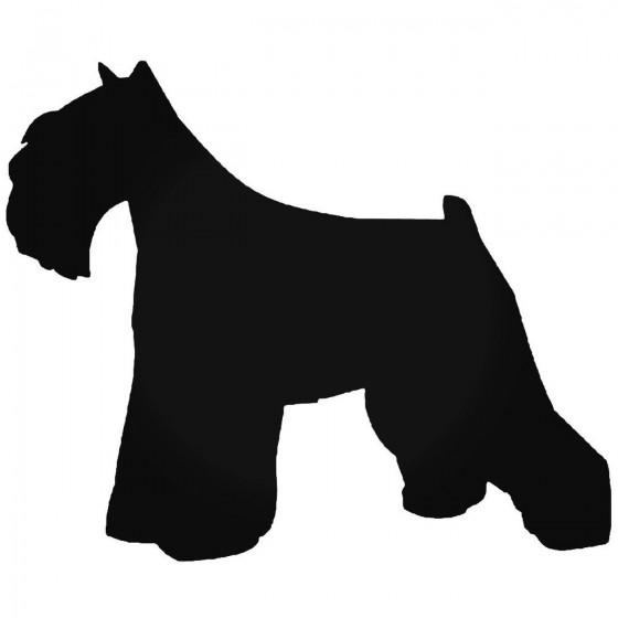 Mini Schnauzer Dog 1 Vinyl...