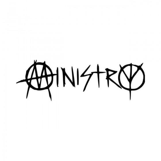 Ministry Band Logo Vinyl...