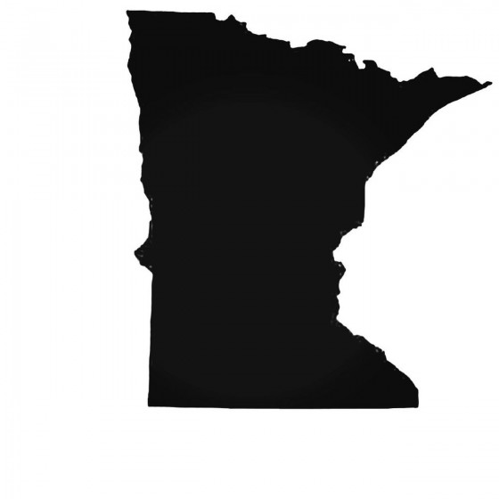 Minnesota Mn State Decal...