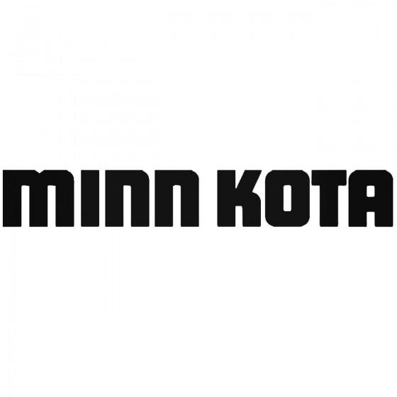 Minn Kota Fishing Vinyl...