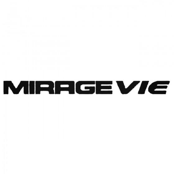 Mirage Vie Decal Sticker
